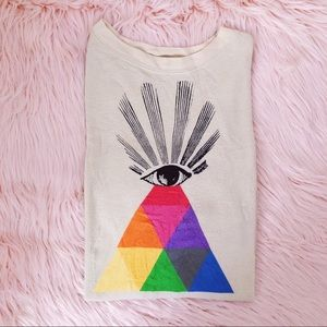 WILDFOX Couture All Seeing Eye Roadtrip Sweater